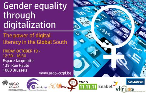 Gender equality through digitalization